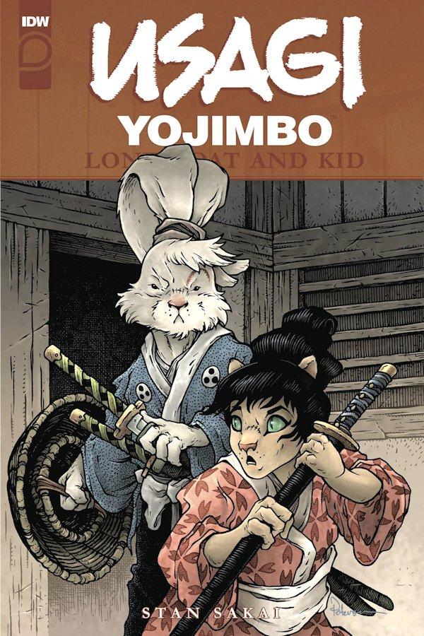 Usagi Yojimbo Lone Goat & Kid